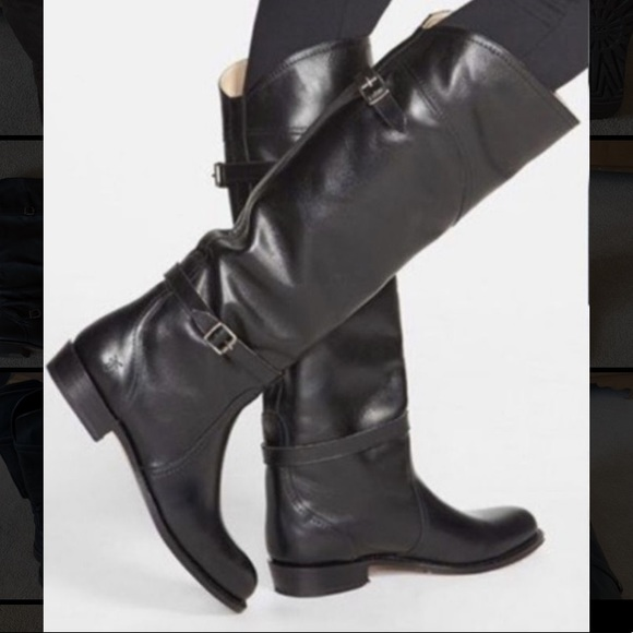 Frye Shoes | Black Leather Boots